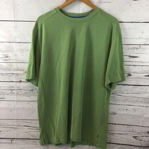 Tommy Bahama Green Tencel Polyester T-Shirt